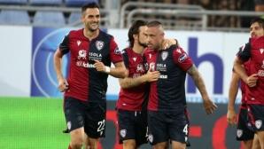Каляри сложи край на негативната си серия срещу Торино (видео)