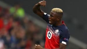Осимен беше обявен за номер 1 за сезона сред африканците в Лига 1