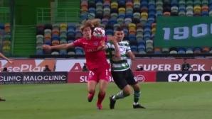 Божидар Краев не помогна на Жил Висенте срещу Спортинг
