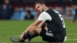 Емоционалният Пянич отпразнува трансфера си в Барселона (видео)