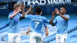 Манчестър Сити 1:0 Ливърпул, Де Бройне откри от дузпа  (гледайте тук)