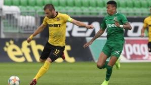 Юноша смени Лъчезар Балтанов в групата на Ботев (Пловдив) за мача с Дунав