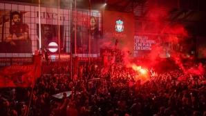 Ръководството на Ливърпул отново призова феновете да не се събират за празненства