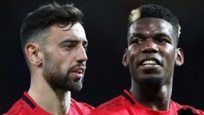 Звездите на Манчестър Юнайтед се контузиха взаимно