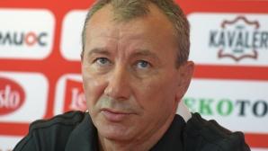Стамен Белчев прави само една промяна в треньорския щаб на ЦСКА-София