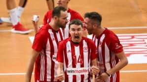 Олимпиакос изравни полуфиналната серия в Гърция