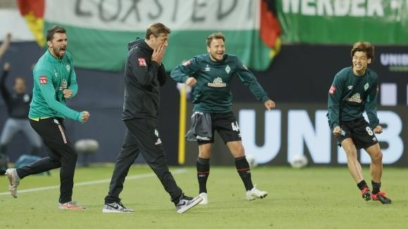 Вердер Бремен ще запази треньора си и за следващия...