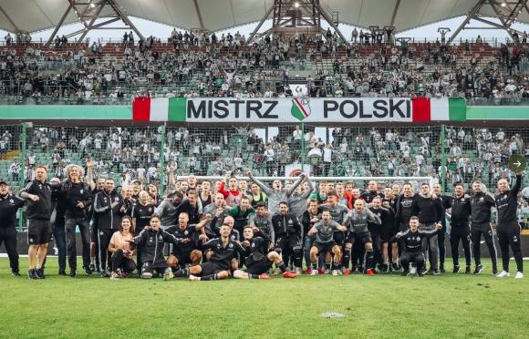 Легия Варшава шампион на Полша за 14-и път