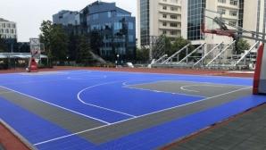 Първи турнир 3х3 на уникален спортен комплекс в София