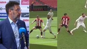 Бартомеу изригна срещу ВАР: Винаги помага на един и същи отбор