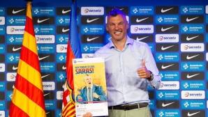 Ясикевучис бе представен официално като треньор на Барселона