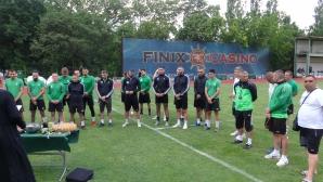 Вихрен стартира подготовка с 24 футболисти