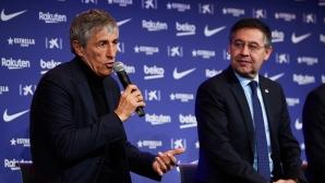 Босът на Барса: Оставам аз, остава и треньорът. Ако не спечелим Ла Лига, има ШЛ