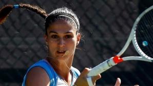 Шиникова не даде гейм на Вангелова в българското дерби на турнира на Типсаревич