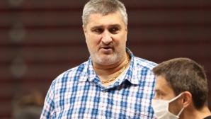 Любо Ганев гледа първата тренировка на Силвано Пранди в София (видео + галерия)