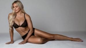 Кечистка трупа лайкове със секси снимки по дантелено бельо