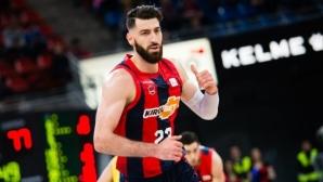 Официално: Торнике Шенгелия е ново попълнение на ЦСКА (Москва)