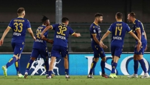 Верона 1:0 Интер, ранен гол и още пропуски на домакините
