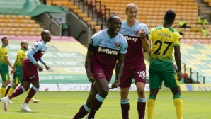 Първият изпадащ в Премиър лийг е факт след четири гола на Антонио (видео)