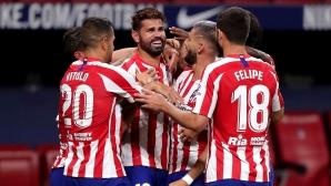 Изстрадана победа гаранитра мястото на Атлетико Мадрид в ШЛ (видео)