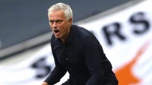 Моуриньо: Заслужена победа, преследваме Лига Европа
