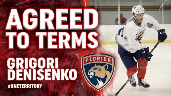 Флорида Пентърс подписа с млад руски талант