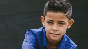 Видео с големия син на Кристиано създаде работа на полицията