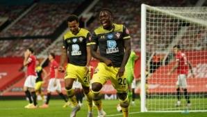 Гол в 96-ата минута остави Манчестър Юнайтед извън топ 4 (видео)