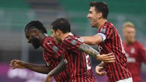 Милан 0:1 Парма, гостите с гол точно преди почивката (видео)