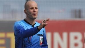 Николай Йорданов ще ръководи баража Царско село - Септември