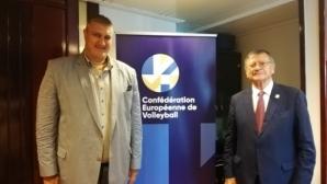 Любо Ганев и президентът на CEV обсъдиха Евроволей 2021