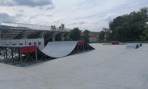 Площадка за скейтборд изградиха в Елена