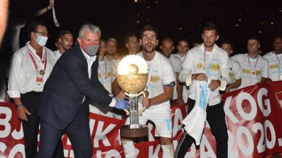 Риека спечели Купата на Хърватия за втора поредна година