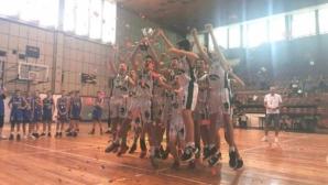 Черно море Тича е шампион на България при 13-годишните момчета