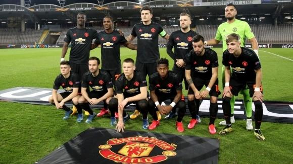 Юнайтед обяви групата от 30 футболисти, с които ще доиграе Лига Европа