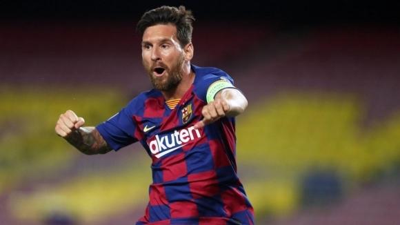 Магията на Меси изпрати Барселона в Лисабон след една трудна вечер за ВАР (видео)