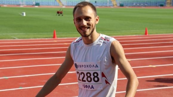 Борис Линков е новият шампион на България в скока на...