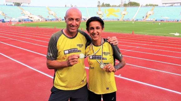 Лиляна Георгиева и Алекс Василев са №1 на 800 метра