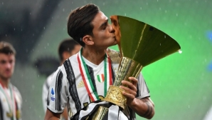 Пауло Дибала е най-добрият играч за сезона в Италия