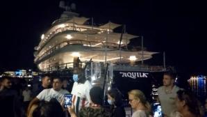 Баскетболна легенда подлуди Хърватия с яхта за 150 млн. долара (видео)