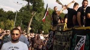 Феновете на Локо (Пловдив) с уникално видео преди дербито