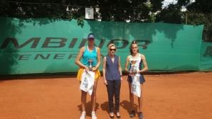 Динко Динев и Денислава Глушкова са шампионите от Държавното лично първенство по тенис до 18 години