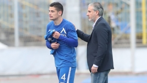 Иван Горанов: Трудно ми е да се разделя с любимия отбор, но този трансфер е част от моето развитие