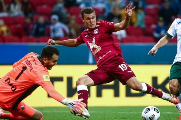 Локомотив Москва си тръгна с трите точки от Казан