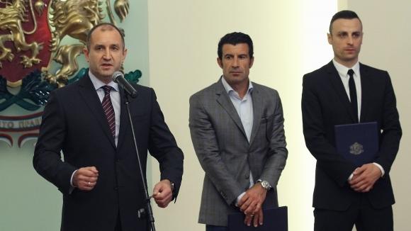 Президентът Румен Радев изказа съболезнования на близките на Бисер Михайлов