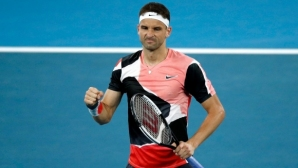 Григор Димитров в топ 10 на най-атлетичните тенисисти