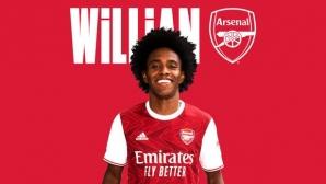 Официално: Вилиан смени Челси с Арсенал