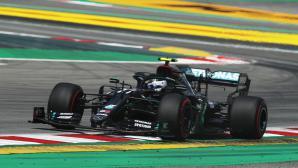 Ботас най-бърз в първата тренировка във Формула 1 за Гран при на Испания