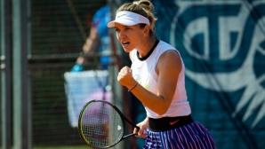 Халеп вече е полуфиналистка в Прага