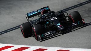 Хамилтън най-бърз след втората тренировка във Формула 1 за ГП на Испания